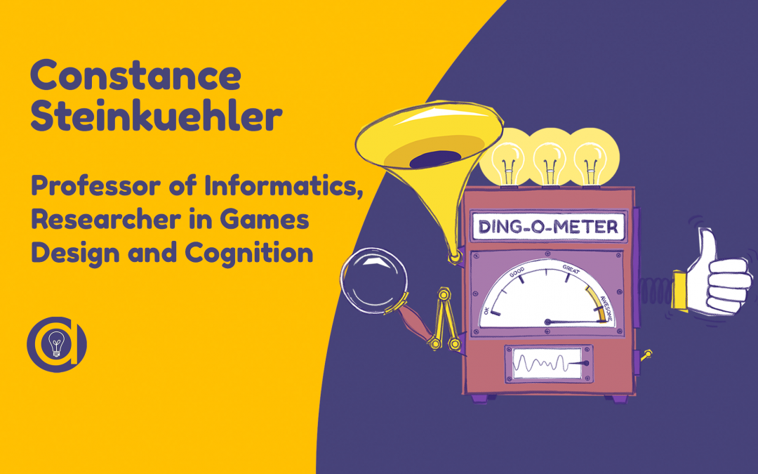 Constance Steinkuehler: What games design can teach learning design